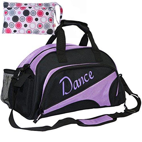 kilofly, Damen Bowlingtasche, violett (Lila) - AWP372PUR