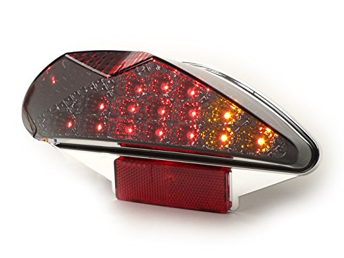 Rücklicht LED Bilnker Yamaha Aerox MBK Nitro CPI Hussar Oliver Popcorn schwarz