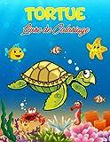 Tortue Livre de Coloriage: 40 illustrations uniques à colorier, un merveilleux livre sur les tortues pour les adolescents, les garçons et les enfants, ... tortues pour les enfants et les tout-petits