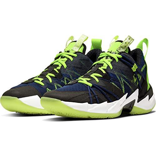Nike Jordan Why Not Zero 3 SE - Zapatillas de baloncesto para hombre, color negro, azul y verde, color Negro, talla 42.5 EU