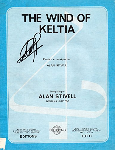 Alan Stivell - Tutti/Intersong - EMIT 9767 - The Wind of Keltia - partition