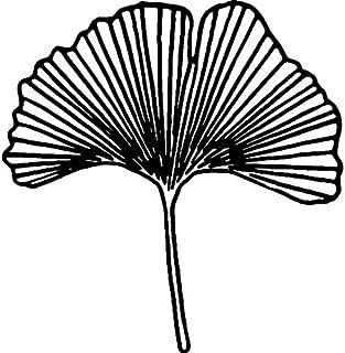 Azeeda A8 'Ginkgo Leaf' Unmounted Rubber Stamp (RS00026773)