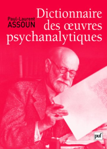 Dictionnaire des oeuvres psychanalytiques