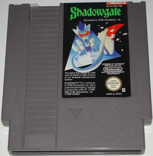 Shadowgate (Nintendo NES) lose