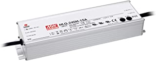 LED Driver 240.3W 54V 4.45A HLG-240H-54A Meanwell AC-DC SMPS HLG-240H Series MEAN WELL C.V+C.C Power Supply