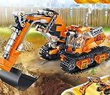 VATOS Building STEM Toys, 513 Pezzi Creativo 1 a 2 Escavatore o Perforazione Veicoli per la Costruzione di Veicoli Kit Blocchi educativi Giocattolo Regalo per 6 7 8 9 10 Anni Ragazzi e Ragazze
