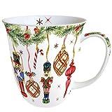 Ambiente - Taza de Navidad (porcelana fina, 0,4 L)