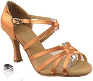 Ladies Women Ballroom Dance Shoes Very Fine EKSA1605 SERA 2.5