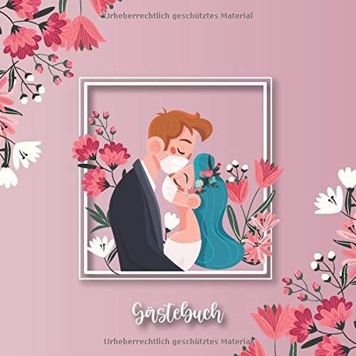 Gästebuch: Rosa Hochzeits Gästebuch für Unsere Hochzeit - 120 Gäste