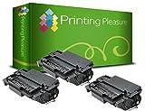 Printing Pleasure Compatible Q6511X 11X Cartucho de tóner para HP Laserjet 2400 2410 2410N 2420 2420D 2420DN 2420DTN 2420N 2430 2430DTN 2430N 2430T 2430TN - Negro, Alta Capacidad