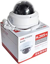 Hikvision 8MP 4K Dome IP Camera, DS-2CD2185FWD-I (2.8mm Lens) High Resolution Security Camera Outdoor H.265+ IP67 firmware upgradeable International Version Eziview