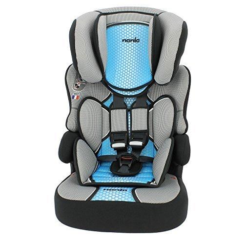 MyCarSit - Asiento de coche para niños (respaldo alto, 9 a 36 kg), color...