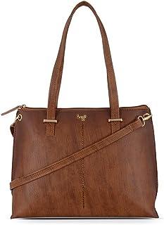 Baggit Women's Shoulder Bag (Mustard)