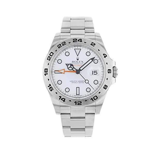Fashion Shopping New Rolex Explorer II Stainless Steel Mens Watch 216570 W