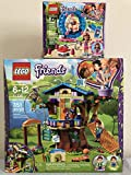 LEGO Friends Mia's Tree House Bundle Friends Olivia's Hamster Playground