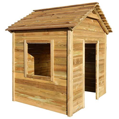 Tente de jardin en bois