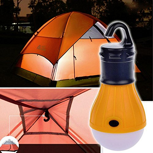 MMRM Suspension Portable Lanterne de Camping LED Lampe Pêche Lumière D'urgence Orange