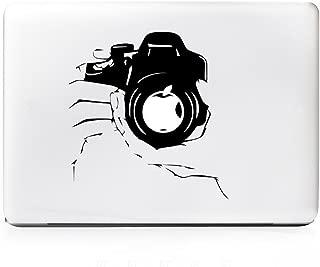 DecalGalleria - Focus DSLR Camera Photographers Decal Sticker for MacBook, MacBook Pro and MacBook Air 11, 12, 13, 15, 17 inch