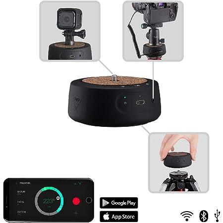 Kongnijiwa 60min Zeitraffer 360 Grad drehbare automatischer Timer Stativkopf Fotografie Verz/ögerung Neigekopf Ersatz f/ür GoPro Kamera