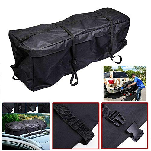 QMMB Roof Boxes, Bag Cargo Carrier, Large Capacity Space Waterproof And Soft Car Roof Bag, Foldable And Can Be Placed in The Rear Luggage Rack, Used for Cars, SUV,290L