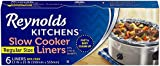 Reynolds Kitchens Premium Slow Cooker Liners - 13 x 21 Inch, 1 Pack (6 Count)