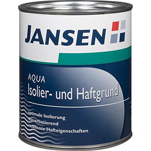 Jansen Aqua Isolier- und Haftgrund weiß 750 ml