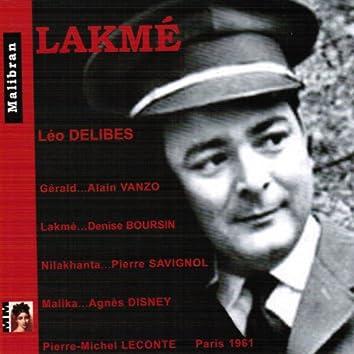 Delibes: Lakmé (Paris 1961)