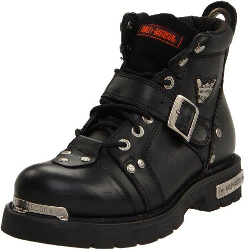 Harley-Davidson Men's Brake Buckle Boot,Black,10.5 M