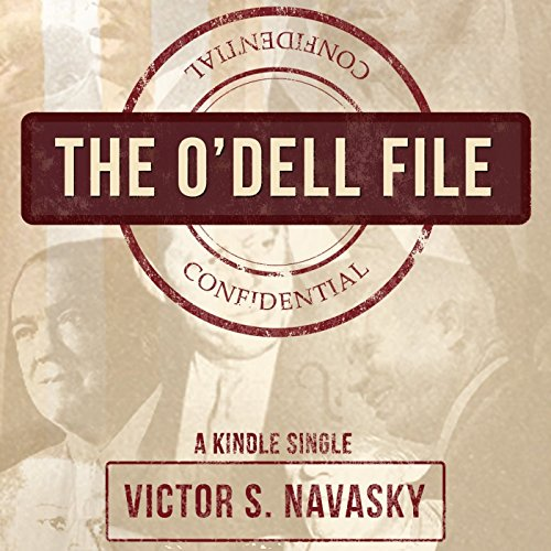 The O'Dell File audiobook cover art