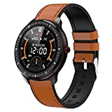 DoSmarter Fitness Watch, 1.3' Touchscreen Smart Watch with Heart Rate Blood Pressure Monitor,Waterproof Fitness Tracker with Sleep Tracking, Pedometer, Calories Counter for Women Men
