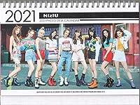 New!NiziU/ニジュー2021-22年度ホワイト卓上カレンダー韓国