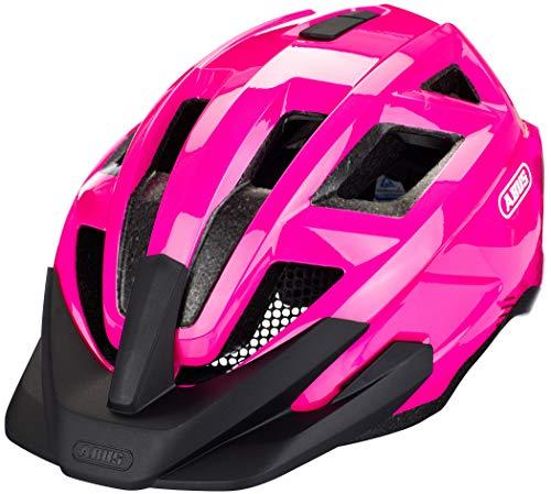 ABUS MountZ Kinderhelm - Fahrradhelm für Kinder - für den Geländeeinsatz - für Jungs und Mädchen - 86974 - Pink, Größe M
