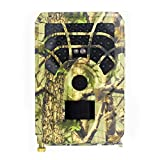 Hbuilder Trail Camera,1080P No-Glow Infrared Night Vision Hunting Camera for Wildlife Monitoring, Garden, Home Security Surveillance