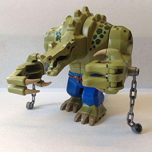 LEGO MINIFIGURE - KILLER CROC - FROM SET 70907 KILLER CROC TAIL GATOR - BATMAN MOVIE