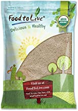 Organic Spelt Flour by Food to Live (Whole Grain, Non-GMO, Stone Ground, Raw, Vegan, Bulk, Great for Baking Bread, Product...
