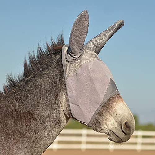Cashel Crusader Fly Mask UV-Schutz Fliegenmaske mit Ohren Esel Foal
