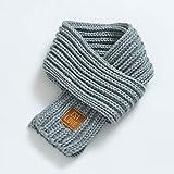MYSdd Mode Winter Kinderschal warme Jungen und Mädchen Schal einfarbig weichen Schal Lätzchen Kinder elastischen Nackenbügel Kindergeschenke - 7