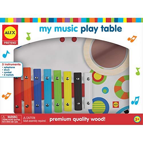 ALEX Toys Pretend My Music Play Table