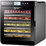Magic Mill Food Dehydrator Machine - Digital Adjustable Timer |...