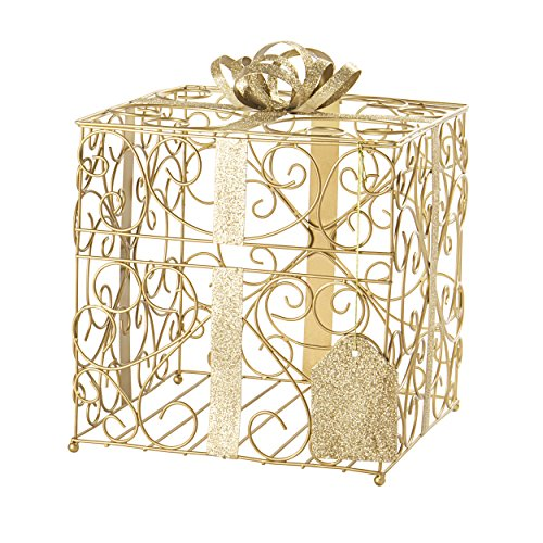 Cathy S Concepts Reception Gift Card Holder Gold