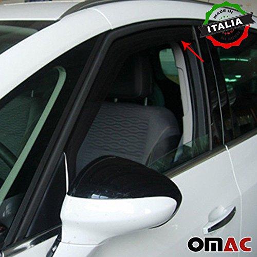 Omac GmbH Opel Zafira Tourer Windabweiser Regenabweiser 2 tlg Satz Vorne ab 2012