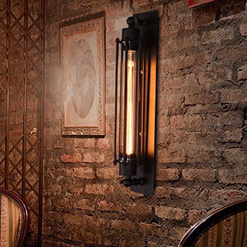 SXFYWYM Creatieve fluit wandlamp ijzer American Country Retro wandlamp restaurant bar teller gang wandlamp