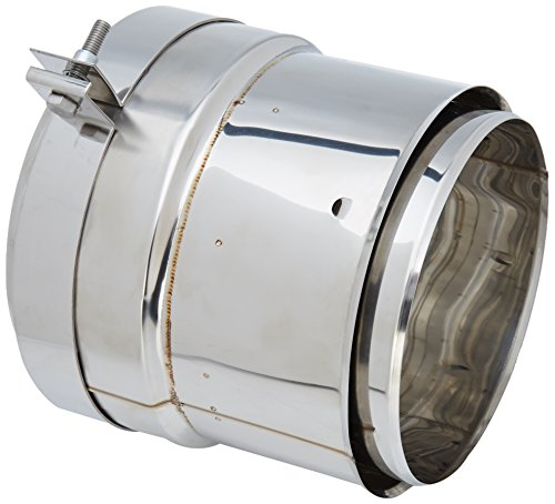 Read About ISOTIP-JONCOUX 090205 Double Flue Connection Stainless Steel, grey, 090221