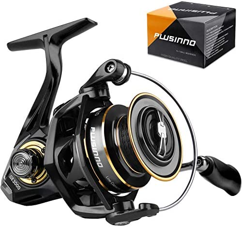 PLUSINNO Spinning Reel 9 1 BB Fishing Reel Ultra Smooth Powerful CNC Aluminum Spool for Saltwater product image