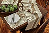 Park Designs Brinley 13 Inches x 36 Inches Printed Cotton Table Runner Kitchen Linens