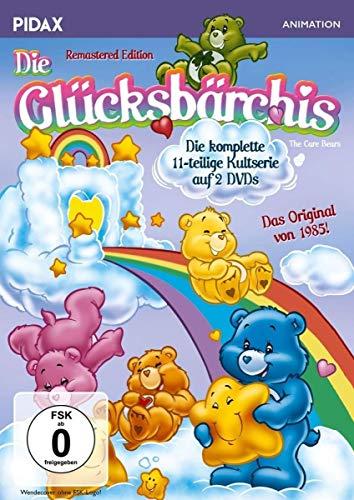 Die Glücksbärchis - Remastered Edition / Die komplette 11-teilige Kultserie + 2 Bonusfolgen (Pidax Animation) [2 DVDs]