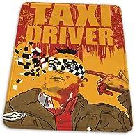 マウスパッド ゲーミングマウスパッド-タクシー運転手ミニマリスト映画滑り止め デスクマット 水洗い 25x30cm
