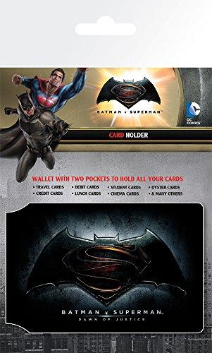 GB Eye Ltd, Batman Vs Superman, Logo, Tarjetero