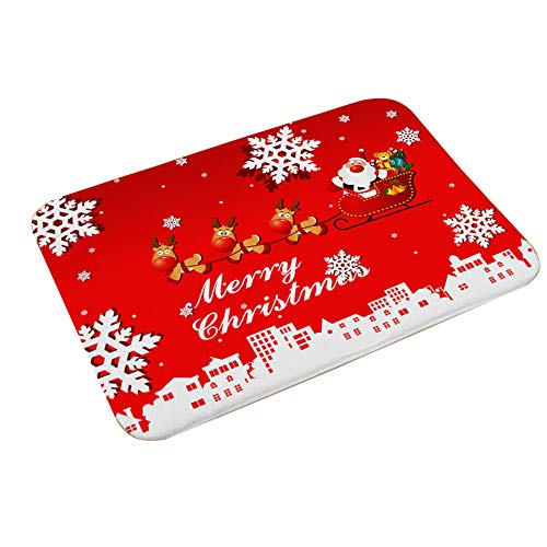 BulzEU Non Slip Christmas Door Mat 40x60cm Various...