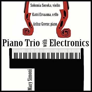 Simoni: Piano Trio with Electronics